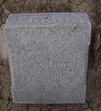 MISSAMORE, FRANK - Hancock County, Ohio | FRANK MISSAMORE - Ohio Gravestone Photos
