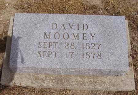 MOOMEY, DAVID - Hancock County, Ohio | DAVID MOOMEY - Ohio Gravestone Photos