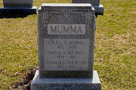 MUMMA, DONALD D. - Hancock County, Ohio | DONALD D. MUMMA - Ohio Gravestone Photos