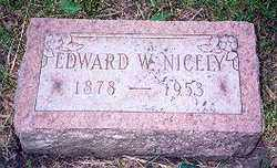 NICELY, EDWARD  W. - Hancock County, Ohio | EDWARD  W. NICELY - Ohio Gravestone Photos