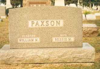 PAXSON, WILLIAM MACE - Hancock County, Ohio | WILLIAM MACE PAXSON - Ohio Gravestone Photos