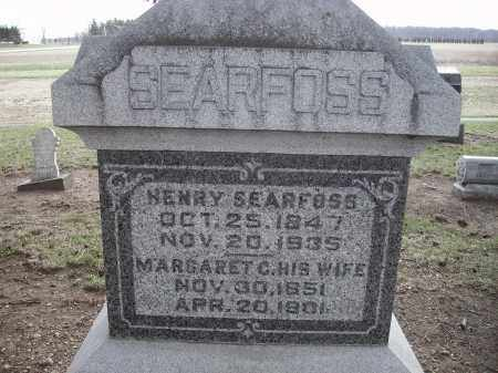 SEARFOSS, HENRY - Hancock County, Ohio | HENRY SEARFOSS - Ohio Gravestone Photos