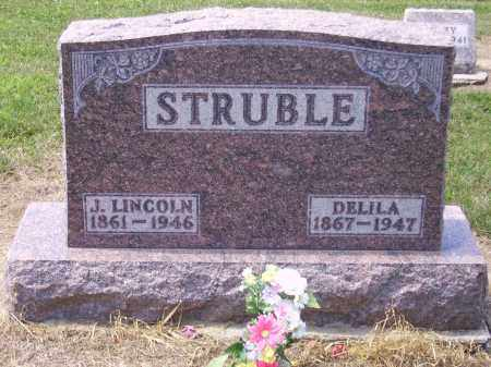 STRUBLE, DELILA - Hancock County, Ohio | DELILA STRUBLE - Ohio Gravestone Photos