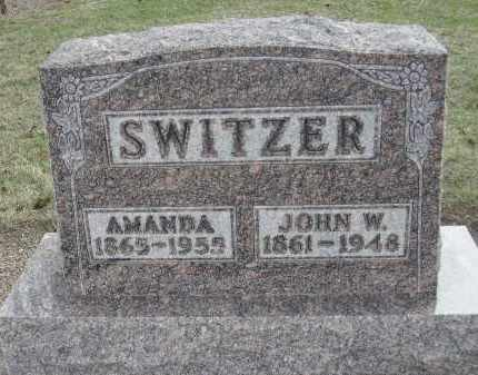 SWITZER, AMANDA IRENE - Hancock County, Ohio | AMANDA IRENE SWITZER - Ohio Gravestone Photos