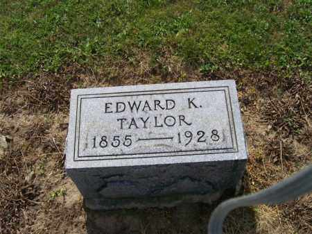 TAYLOR, EDWARD K. - Hancock County, Ohio | EDWARD K. TAYLOR - Ohio Gravestone Photos