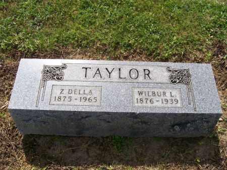 TAYLOR, WILBUR - Hancock County, Ohio | WILBUR TAYLOR - Ohio Gravestone Photos