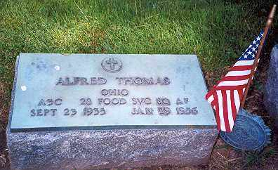 THOMAS, ALFRED - Hancock County, Ohio | ALFRED THOMAS - Ohio Gravestone Photos