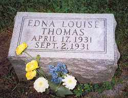THOMAS, EDNA LOUISE - Hancock County, Ohio | EDNA LOUISE THOMAS - Ohio Gravestone Photos