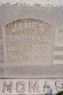 THOMAS, JAMES - Hancock County, Ohio | JAMES THOMAS - Ohio Gravestone Photos
