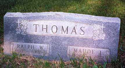 RINGLE THOMAS, MAUDE LILLIAN - Hancock County, Ohio | MAUDE LILLIAN RINGLE THOMAS - Ohio Gravestone Photos