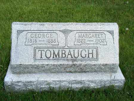 TOMBAUGH, GEORGE & MARGARET - Hancock County, Ohio | GEORGE & MARGARET TOMBAUGH - Ohio Gravestone Photos