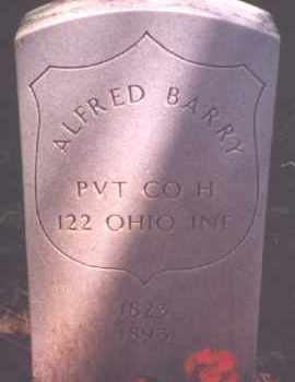 BARRY, ALFRED P. - Hardin County, Ohio | ALFRED P. BARRY - Ohio Gravestone Photos
