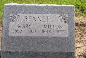 BENNETT, JAMES MILTON - Hardin County, Ohio | JAMES MILTON BENNETT - Ohio Gravestone Photos