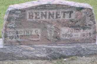 BENNETT, JOHN EVERETT - Hardin County, Ohio | JOHN EVERETT BENNETT - Ohio Gravestone Photos