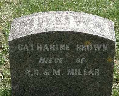 BROWN, CATHARINE - Hardin County, Ohio | CATHARINE BROWN - Ohio Gravestone Photos