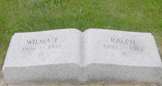 BUROKER, WILMA - Hardin County, Ohio | WILMA BUROKER - Ohio Gravestone Photos