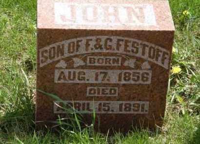 FESTOFF, JOHN - Hardin County, Ohio | JOHN FESTOFF - Ohio Gravestone Photos