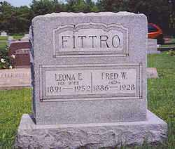 FITTRO, FRED W. - Hardin County, Ohio | FRED W. FITTRO - Ohio Gravestone Photos