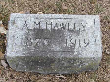 HAWLEY, ASA MILROY - Hardin County, Ohio | ASA MILROY HAWLEY - Ohio Gravestone Photos