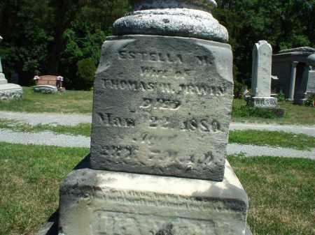 IRWIN, ESTELLE - Hardin County, Ohio | ESTELLE IRWIN - Ohio Gravestone Photos
