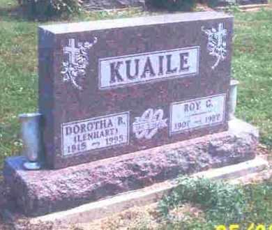 LENHART KUAILE, DOROTHA B. - Hardin County, Ohio | DOROTHA B. LENHART KUAILE - Ohio Gravestone Photos