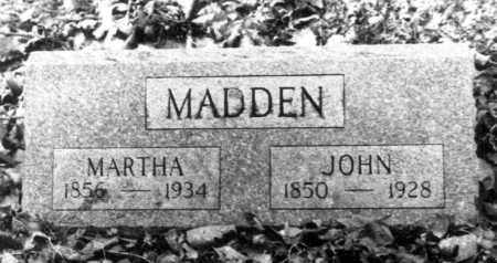 WILCOX MADDEN, MARTHA ANNE - Hardin County, Ohio | MARTHA ANNE WILCOX MADDEN - Ohio Gravestone Photos