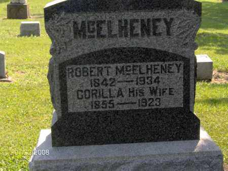 DUGAN MCELHENEY, CORILLA ANN - Hardin County, Ohio | CORILLA ANN DUGAN MCELHENEY - Ohio Gravestone Photos