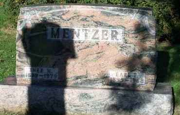 MENTZER, EARL - Hardin County, Ohio | EARL MENTZER - Ohio Gravestone Photos