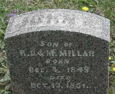 MILLAR, JOHN - Hardin County, Ohio | JOHN MILLAR - Ohio Gravestone Photos