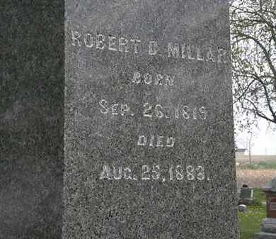 MILLAR, ROBERT - Hardin County, Ohio | ROBERT MILLAR - Ohio Gravestone Photos