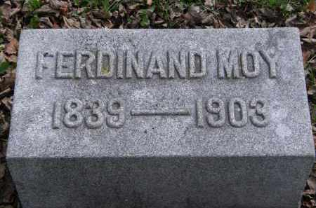 MOY, FERDINAND - Hardin County, Ohio | FERDINAND MOY - Ohio Gravestone Photos