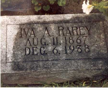 MARSHALL RAREY, IVA A. - Hardin County, Ohio | IVA A. MARSHALL RAREY - Ohio Gravestone Photos