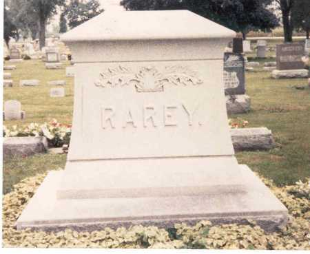 RAREY, MONUMENT - Hardin County, Ohio | MONUMENT RAREY - Ohio Gravestone Photos