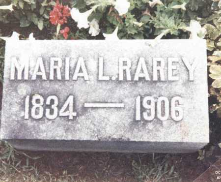 RAREY, MARIA L. - Hardin County, Ohio | MARIA L. RAREY - Ohio Gravestone Photos