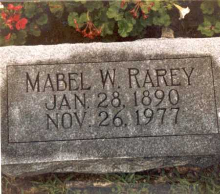 RAREY, MABEL - Hardin County, Ohio | MABEL RAREY - Ohio Gravestone Photos