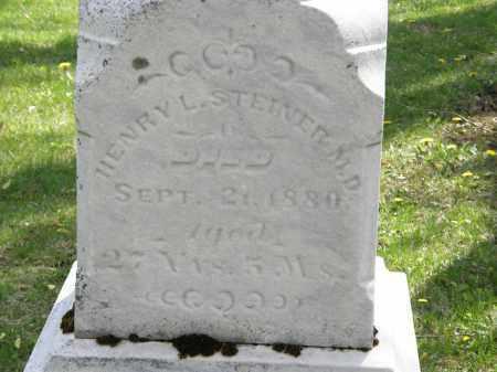 STEINER  M.D., HENRY L. - Hardin County, Ohio | HENRY L. STEINER  M.D. - Ohio Gravestone Photos