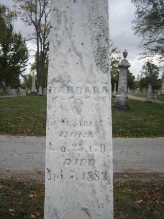 STRASSER, BARBARA - Hardin County, Ohio | BARBARA STRASSER - Ohio Gravestone Photos
