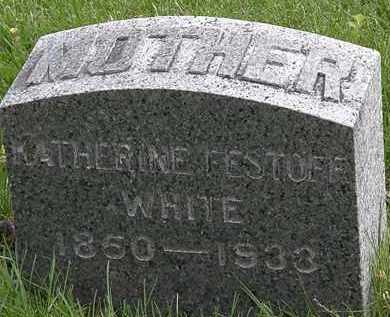 WHITE, KATHERINE - Hardin County, Ohio | KATHERINE WHITE - Ohio Gravestone Photos
