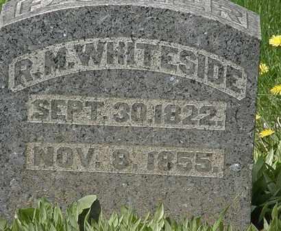 WHITESIDE, R.M. - Hardin County, Ohio | R.M. WHITESIDE - Ohio Gravestone Photos