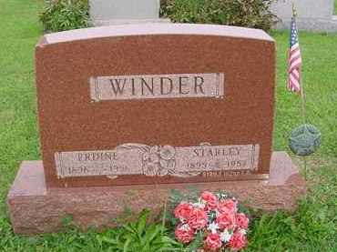 WINDER,, STARLEY - Hardin County, Ohio | STARLEY WINDER, - Ohio Gravestone Photos