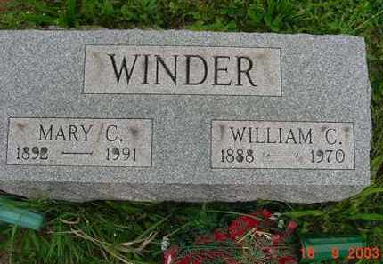 WINDER, WILLIAM CLARK JR. - Hardin County, Ohio | WILLIAM CLARK JR. WINDER - Ohio Gravestone Photos
