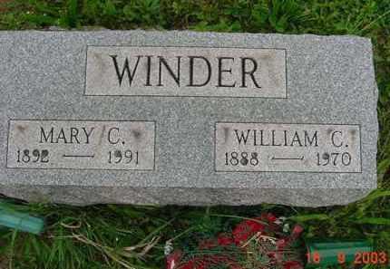 CAIN WINDER, MARY FRANCES - Hardin County, Ohio | MARY FRANCES CAIN WINDER - Ohio Gravestone Photos