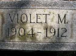 COTTRELL, VOILET M - Hardin County, Ohio | VOILET M COTTRELL - Ohio Gravestone Photos