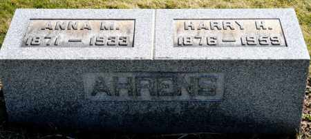 AHRENS, HARRY H. - Harrison County, Ohio | HARRY H. AHRENS - Ohio Gravestone Photos