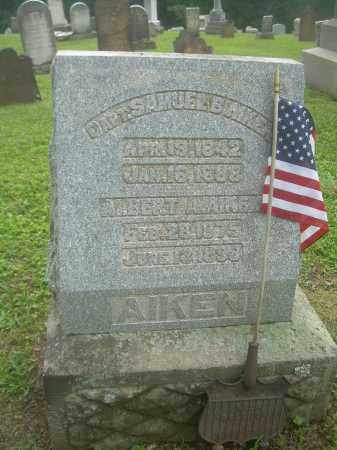 AIKEN, SAMUEL - Harrison County, Ohio | SAMUEL AIKEN - Ohio Gravestone Photos