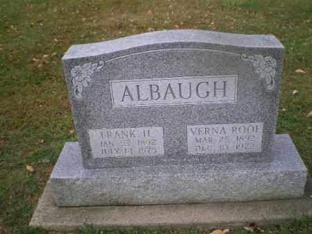 ALBAUGH, VERNA - Harrison County, Ohio | VERNA ALBAUGH - Ohio Gravestone Photos