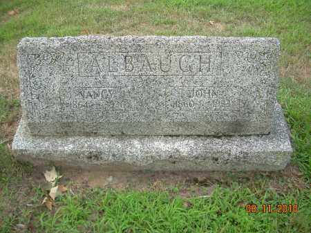 ALBAUGH, NANCY - Harrison County, Ohio | NANCY ALBAUGH - Ohio Gravestone Photos