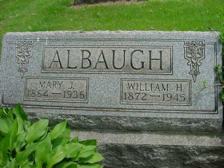 ALBAUGH, MARY J. - Harrison County, Ohio | MARY J. ALBAUGH - Ohio Gravestone Photos
