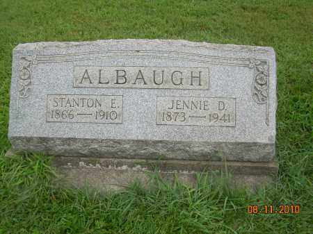 HENRY ALBAUGH, JENNIE D - Harrison County, Ohio | JENNIE D HENRY ALBAUGH - Ohio Gravestone Photos