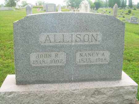 ALLISON, NANCY A - Harrison County, Ohio | NANCY A ALLISON - Ohio Gravestone Photos